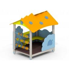 Деревянный домик «Лесник» для детской площадки